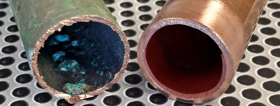 Corroded Copper vs ePipe 101